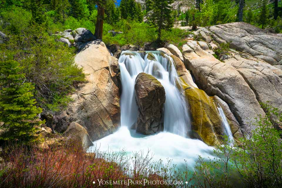 Long Exposure falls on Sonora Pass - Stanislaus River and Deadman Creek - High Sierra Photos