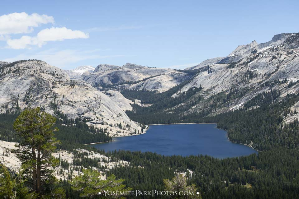 From above Olmsted Point - Tenaya Lake photos