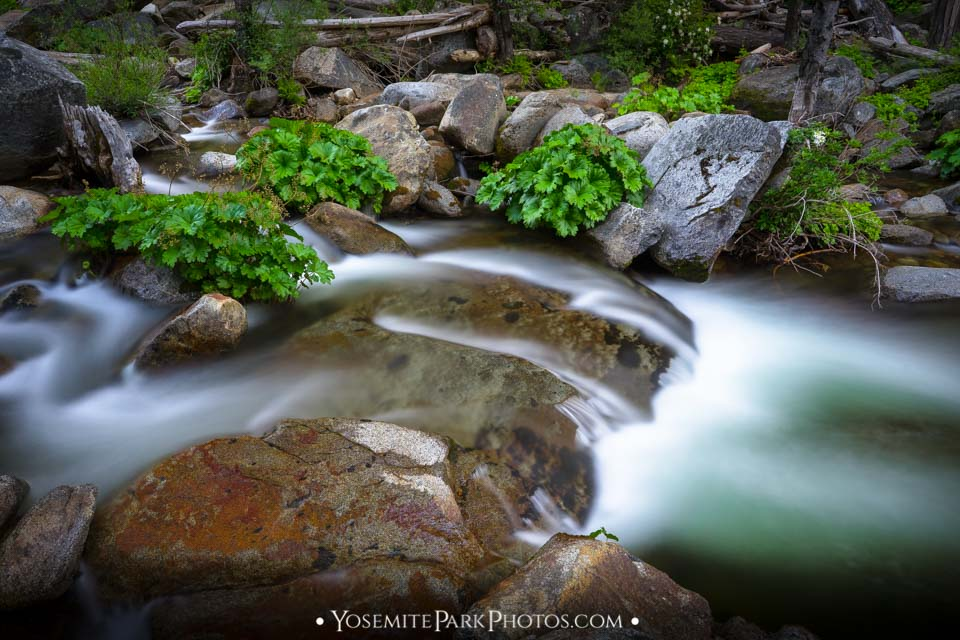 Very Long Exposure Effect in Turquoise Waters - Carlon Falls Area
