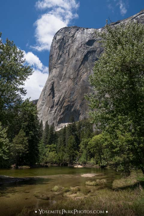 El Capitan view from Cathedral Beach Area
