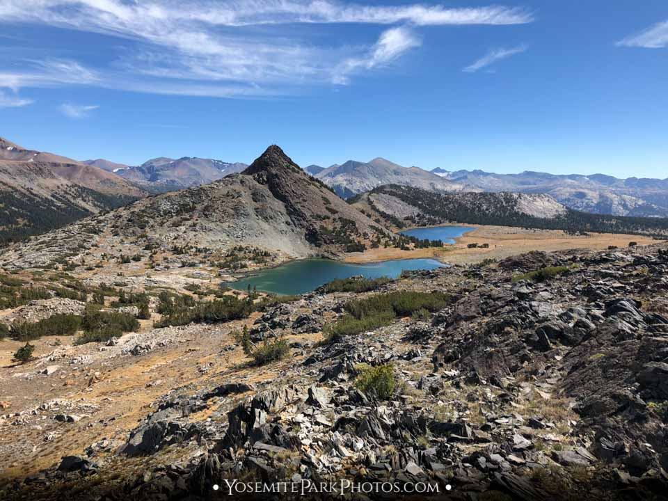 Gaylor Lakes & Gaylor Peak in September