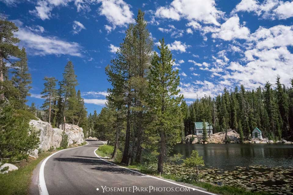 Ebbetts Pass Road at Scenic Mosquito Lakes - Highway 4, California