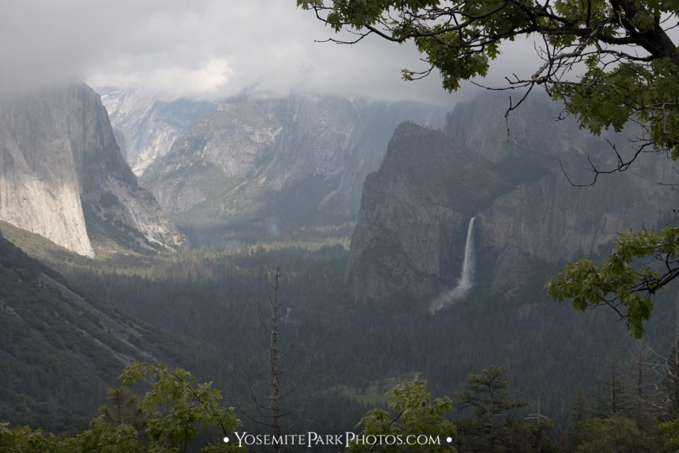 Bridalveil Fall + Valley view - Inspiration point photos
