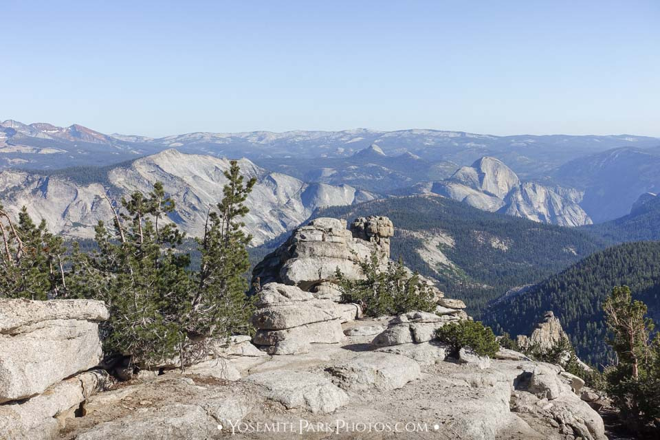 Rocky peak with Half Dome views - Mount Hoffman photos