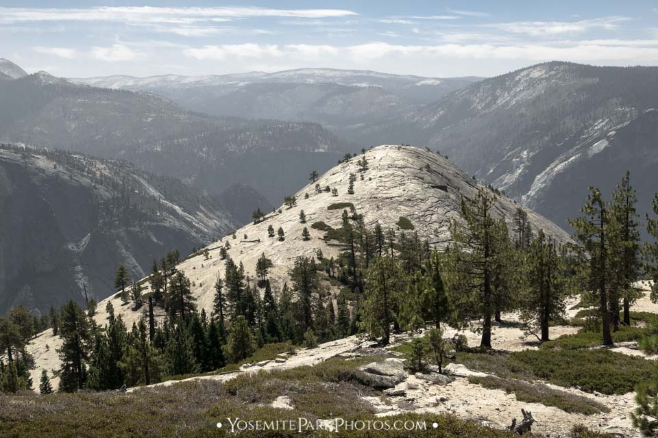 North Dome Photos - Landscape looking west over the valley