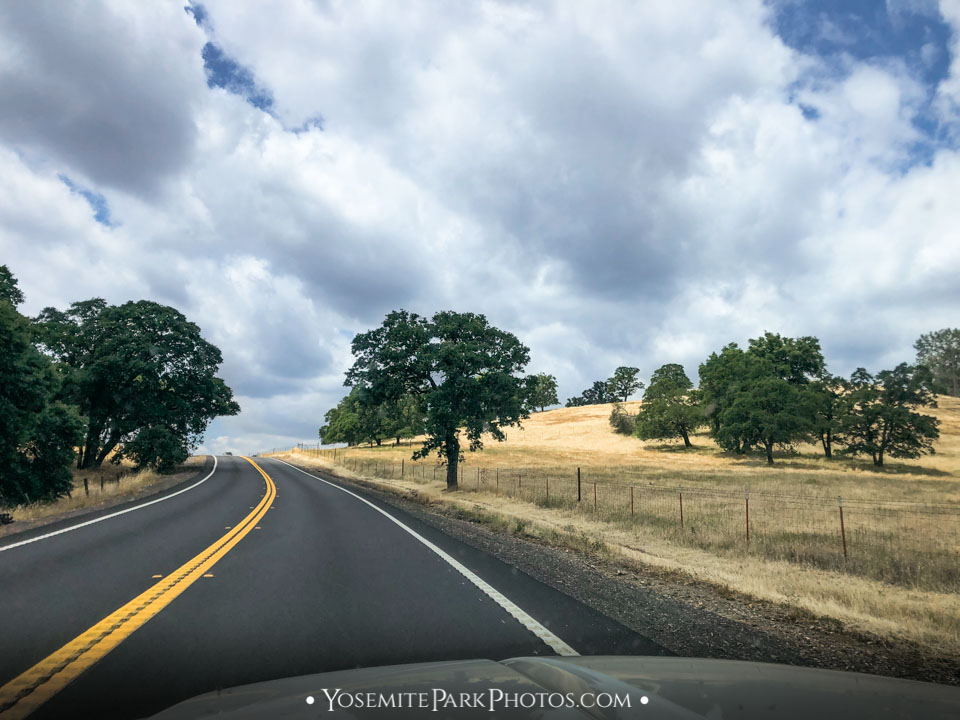 Brown Hills East of Oakdale on Highway 120 - Sierra Foothills Photos
