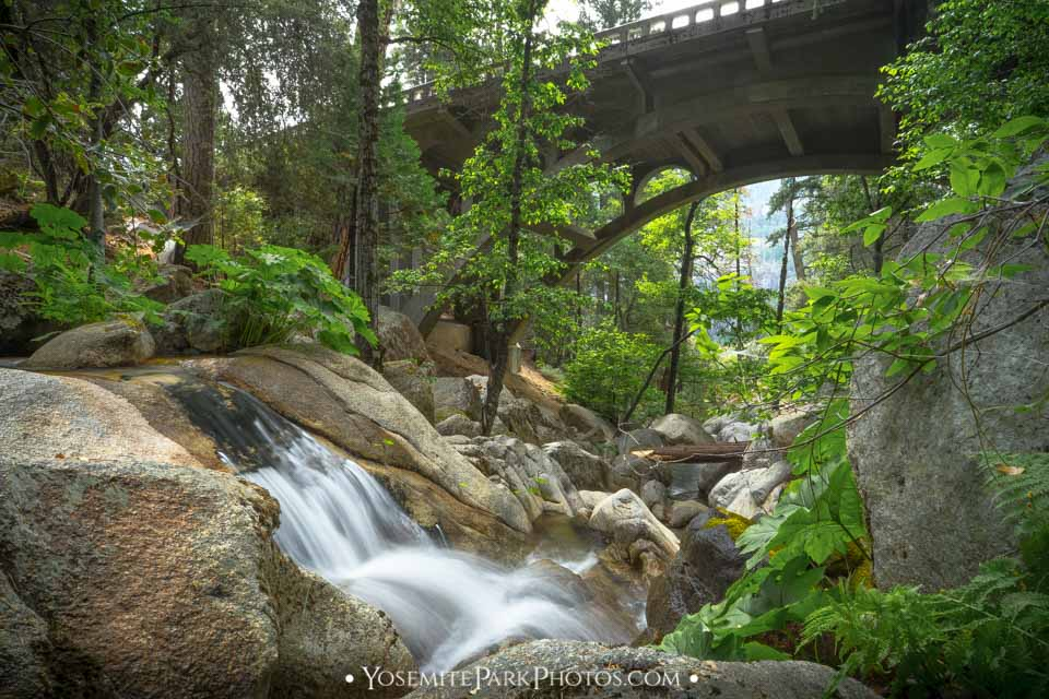 Small Falls Below Tamarack Creek Bridge