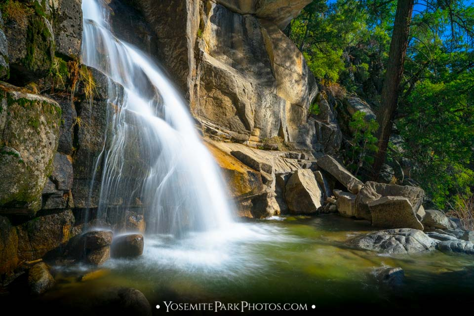 The Cascades - Yosemite long exposures