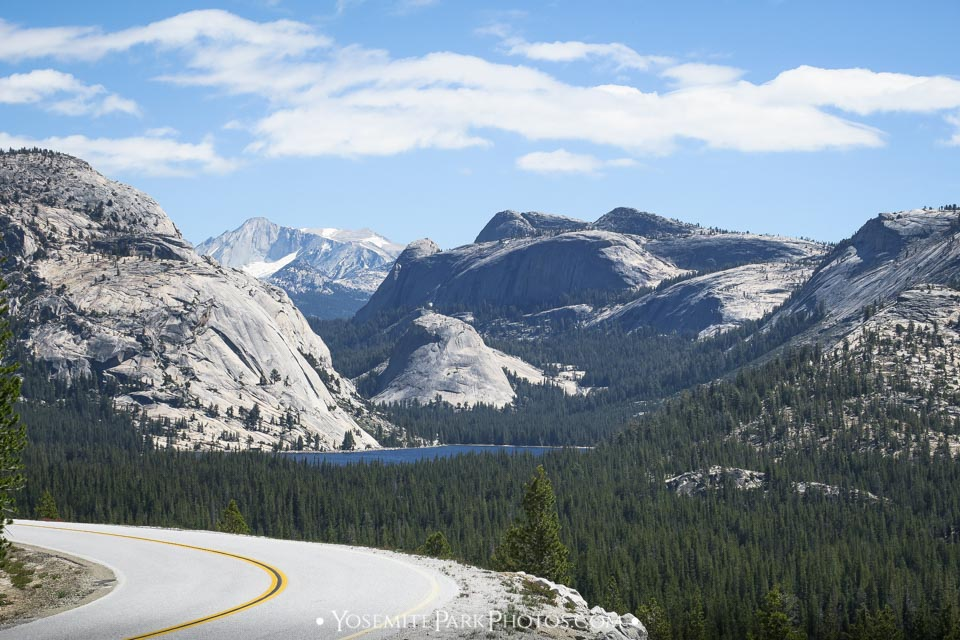 Tenaya Lake & Granite Mountain View - SR120
